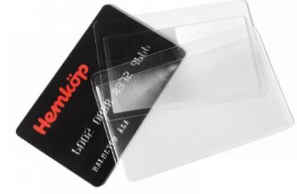 kreditkortsförstoringsglas